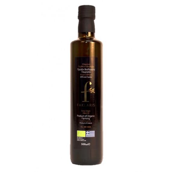 Оливкова олія органічна, 500мл Faklaris