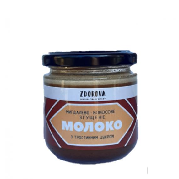 Мигдалево-кокосове згущене молоко, 200г ZDOROVA
