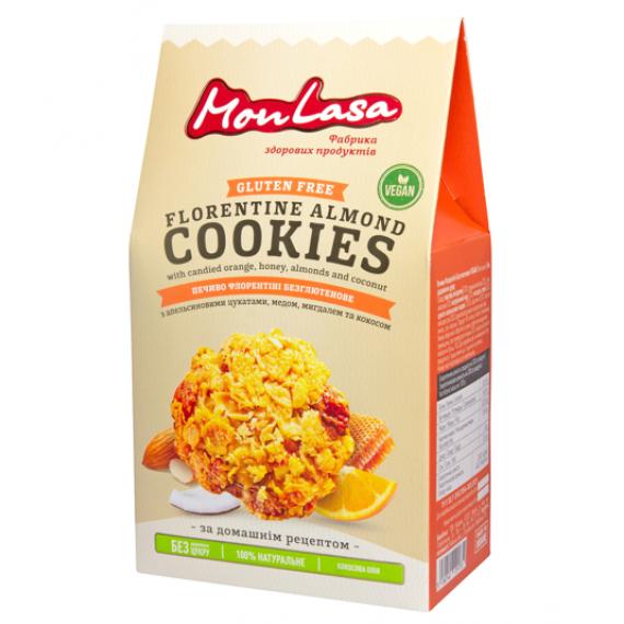 Печиво Флорентіні безглютенове, 120г Mon Lasa