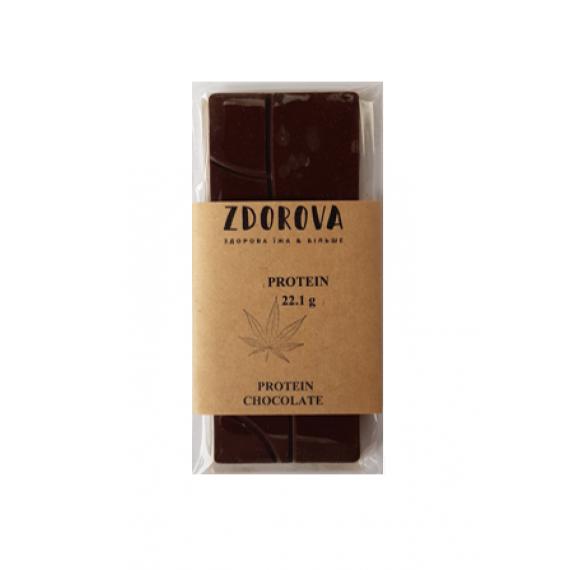 Шоколад протеїновий, 30г ZDOROVA