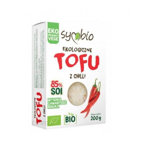 Органічний тофу з чилі, 200г Symbio