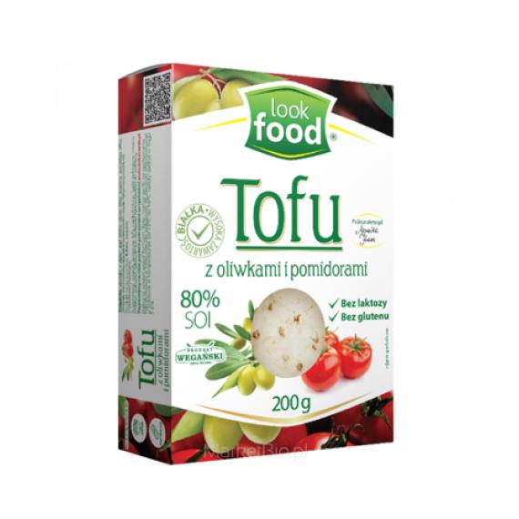 Тофу з оливками і помідорами, 200г Look Food