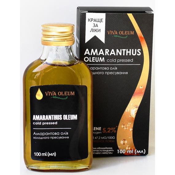 Амарантова олія, 100мл Healthy Generation