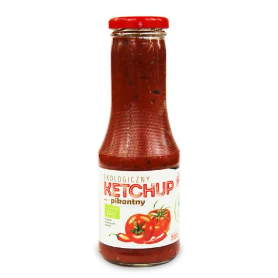 Кетчуп гострий органічний, 300г Dary Natury