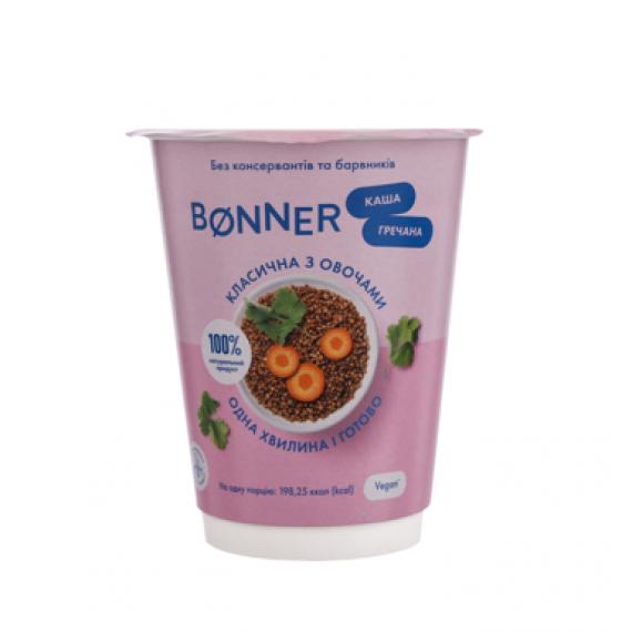 Каша гречана класична з овочами, Bonner