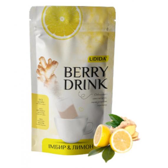 Напій імбирно-лимонний, 12 пакетиків Udida
