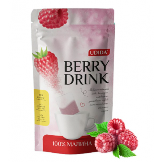 Напій малиновий, 12 пакетиків Udida