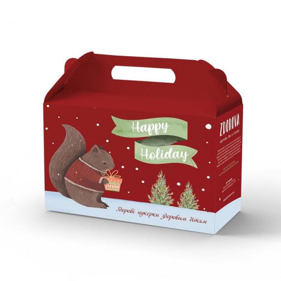 Набір цукерок (подарунок) новорічний, 200г ZDOROVA