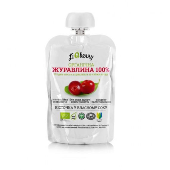 Паста із журавлини, 100г LiQberry