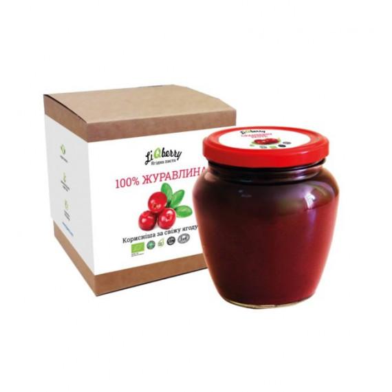 Паста із журавлини, 550г LiQberry