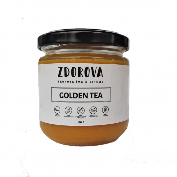 Чай Golden Tea, 200г ZDOROVA