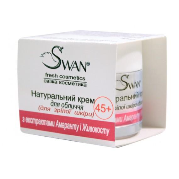 Натуральний крем для зрілої шкіри, 50мл,  Swan