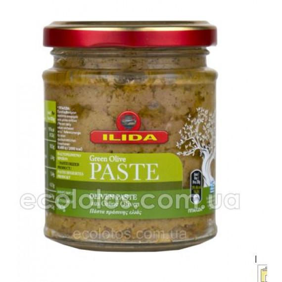 Паста з зелених оливок, 180г ILIDA