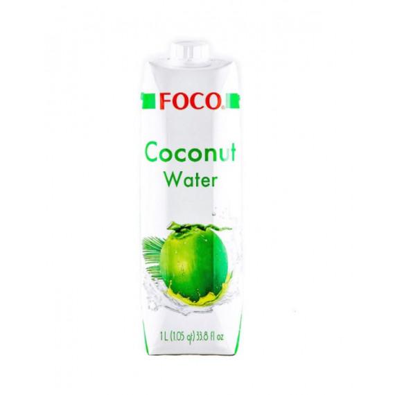 Кокосова вода 1л, Foco