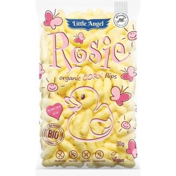 Кукурудзяні палички органічні Little Angel Rosie, 30г McLLOYD'S