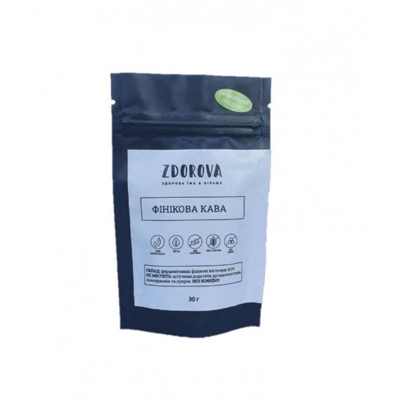 Органічна фінікова кава, 30г ZDOROVA