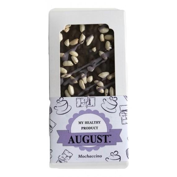 Натуральний шоколад мокачино, 80 г August