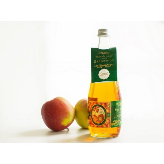 Оцет яблучний харчовий, 300 мл Джонатан 3%