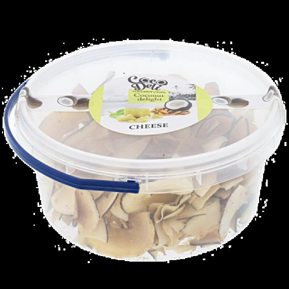 Кокосові чіпси з пармезаном, 100г Coco Deli