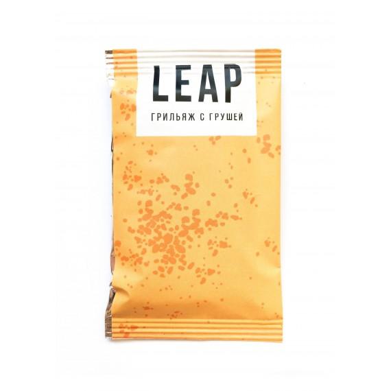 Фруктово-горіховий батончик Leap грильяж з грушею, 45г
