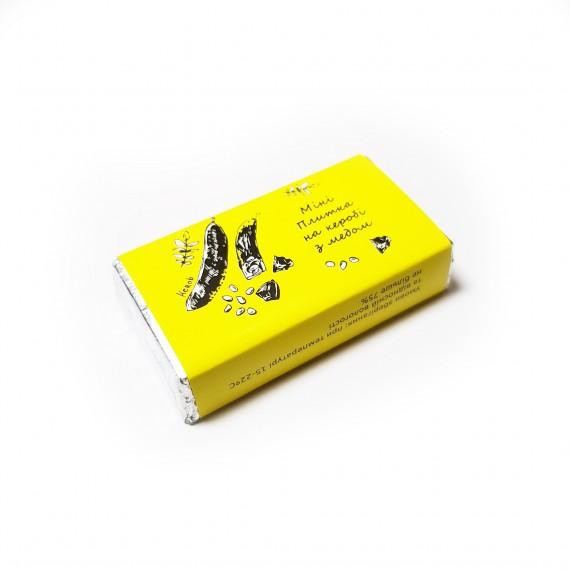 Міні плитка шоколад на керобі, 13г Корка Хліба
