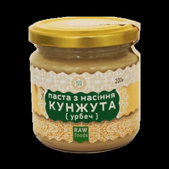 Паста з насіння кунжута (урбеч), 200 г Ecoliya