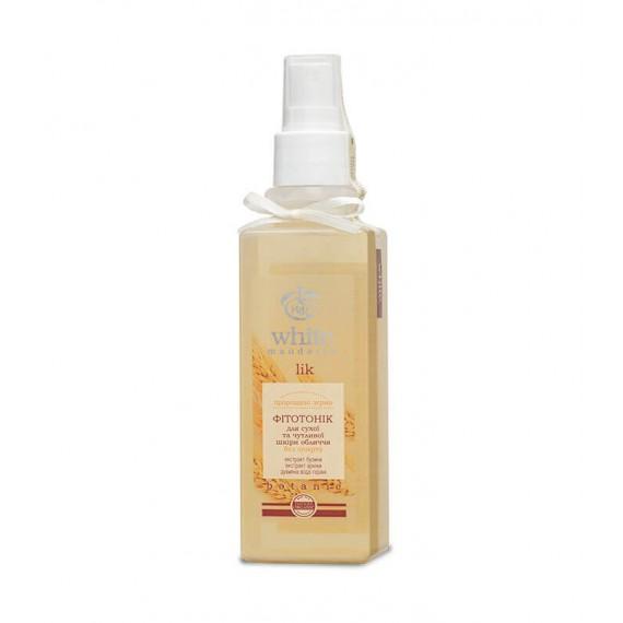 Фітотонік для сухої і чутливої шкіри обличчя – Пророщені зерна, 200мл White Mandarin