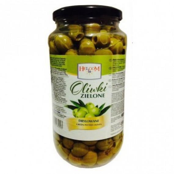 Оливки зелені, 900г Helcom
