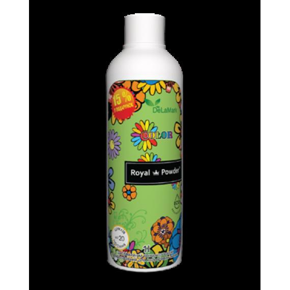 Засіб для прання кольорових речей Royal Powder, 1 л De La Mark