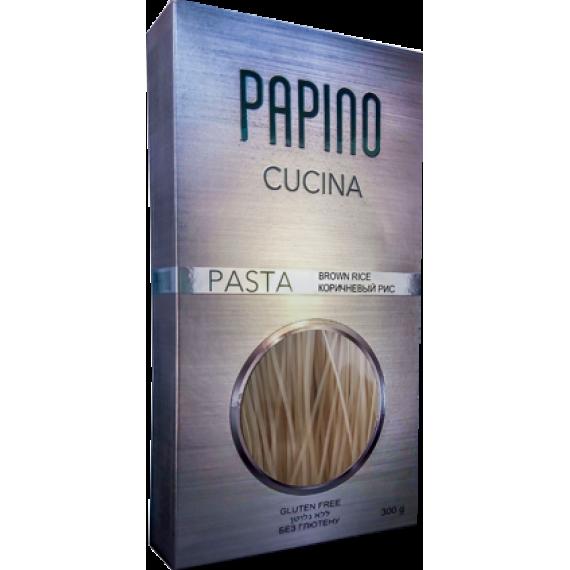 Паста з коричневого рису, 300г Papino