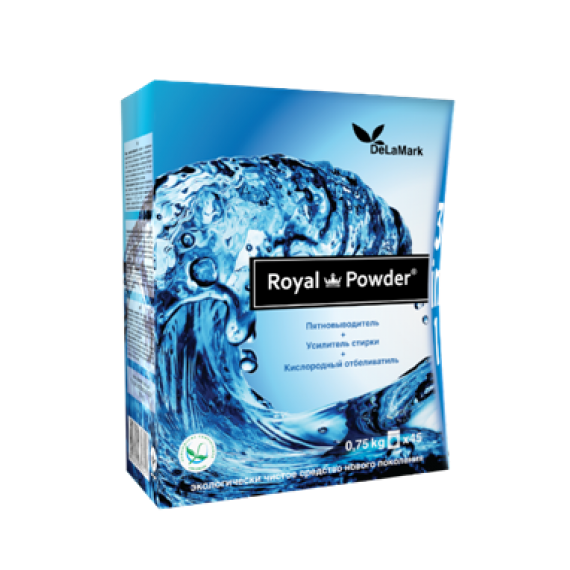 Кисневий відбілювач Royal Powder, 750 г De La Mark