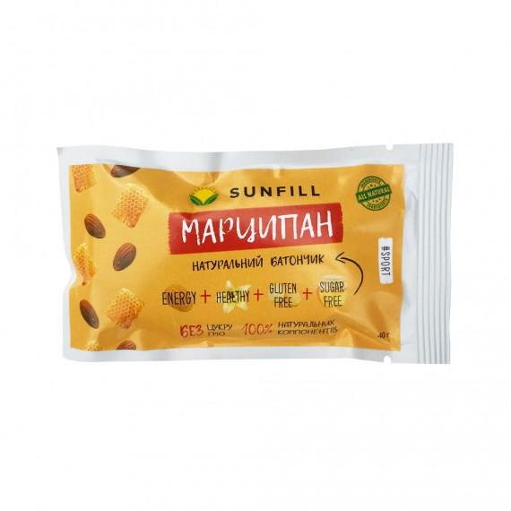 Батончик марципан, 40 г Sunfill