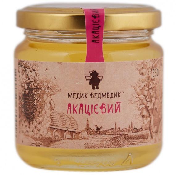 Мед акацієвий, 250 г Медик Ведмедик