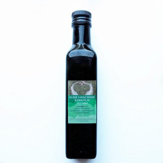 Олiя з насіння коноплі, 250 мл ZDOROVA