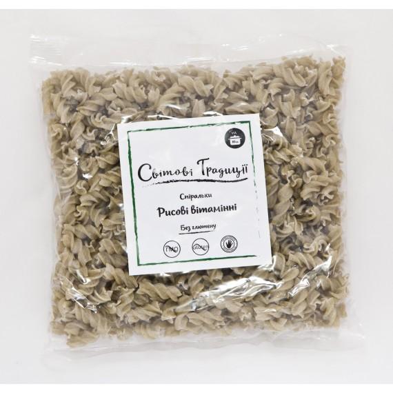 Спіральки рисові вітамінні 500г, ТМ Світові традиції