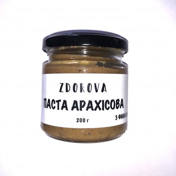 Арахісова паста з фініками ZDOROVA, 200г