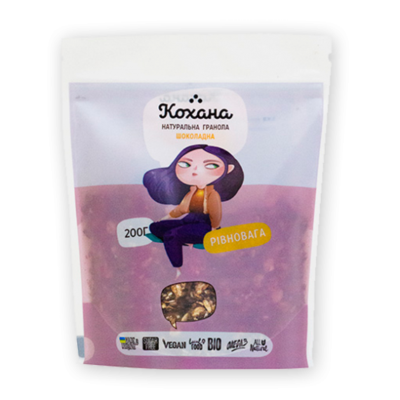 Гранола шоколадна, 200 г Кохана