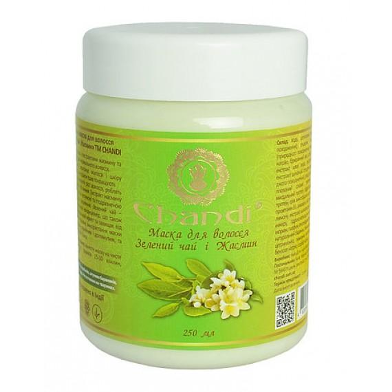 Маска для волосся зелений чай і жасмин  250 мл