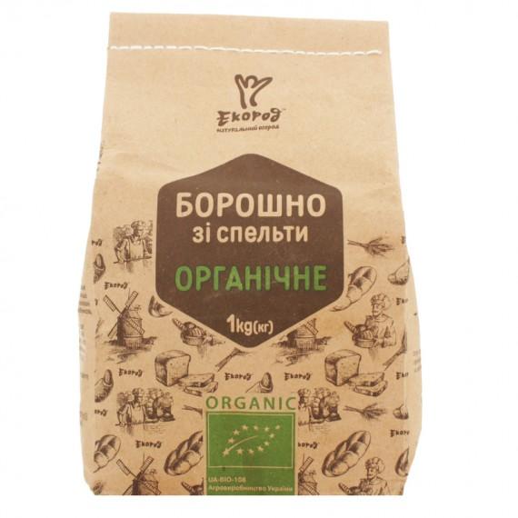 Борошно зi спельти органічне, 1 кг Екород