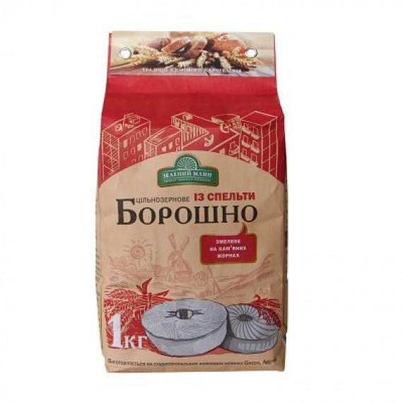 Борошно цільнозернове із спельти 1 кг