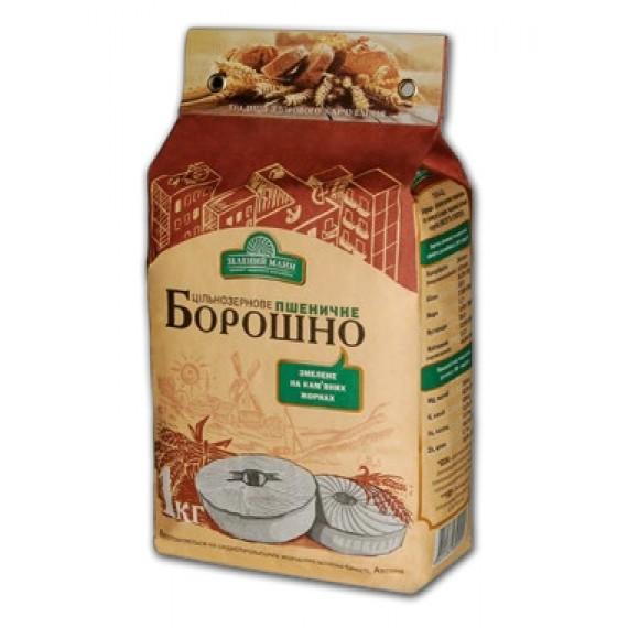 Борошно пшеничне цільнозернове 1 кг