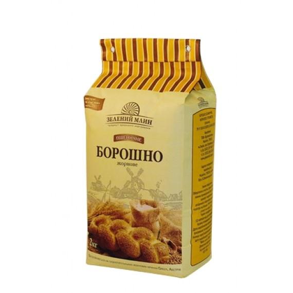 Борошно пшеничне жорнове 2 кг