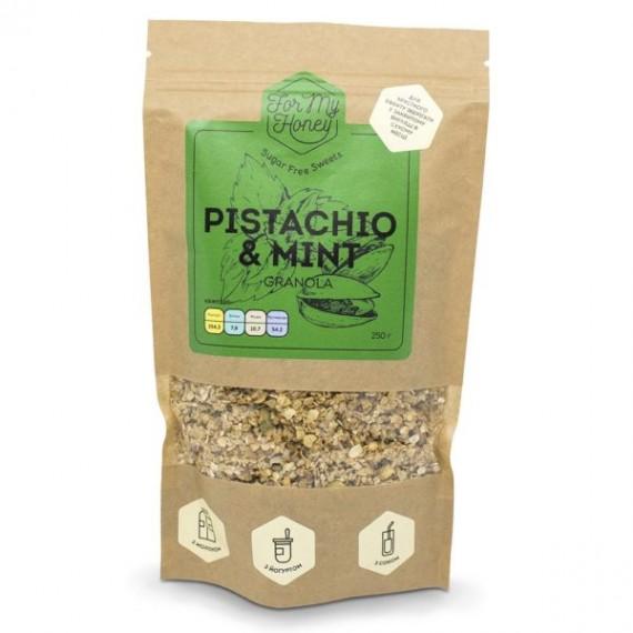 Гранола Pistachio&mint, 250 г For My Honey