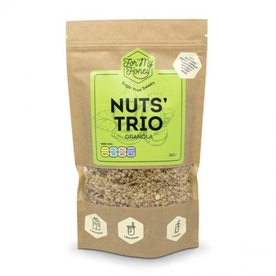 Гранола Nuts` trio, 250 г For My Honey